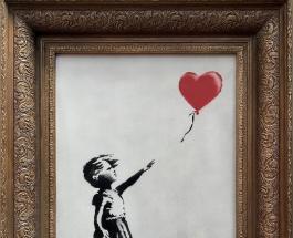 Наполовину уничтоженная картина Бэнкси уйдет с молотка: цена лота - 5,5 млн долларов