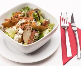 Осенний салат с курицей и яблоками: рецепт легкого, но сытного блюда
