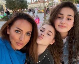 Микелла Абрамова поздравила с 15-летием старшую сестру Сафину архивными фото
