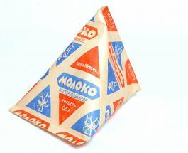 Молоко в треугольных пакетах - символ СССР: история и факты об упаковке, ушедшей в историю