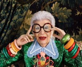 100-летняя Айрис Апфель представила новую коллекцию в честь юбилея: фото дизайнера