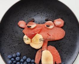Македонка создает кулинарные шедевры для детей: фото блюд, похожих на картины