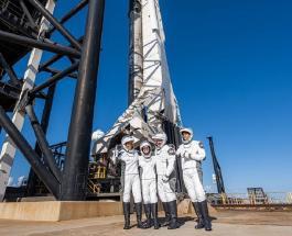 """Миссия """"Inspiration4"""": SpaceX запустила первый частный полет в космос с экипажем"""