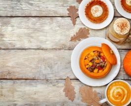 Что приготовить на ужин в выходной день: рецепт фаршированной тыквы с мясом и сыром