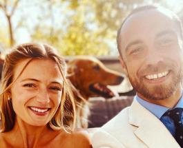 Ализе Тевене вышла замуж в винтажном свадебном платье матери Кейт Миддлтон