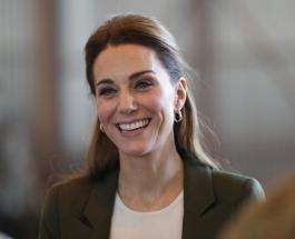 Новый выход Кейт Миддлтон: герцогиня посетила Национальную портретную галерею
