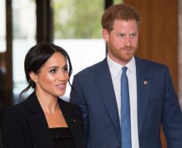 Принц Гарри и Меган Маркл появились на публике впервые после рождения дочери