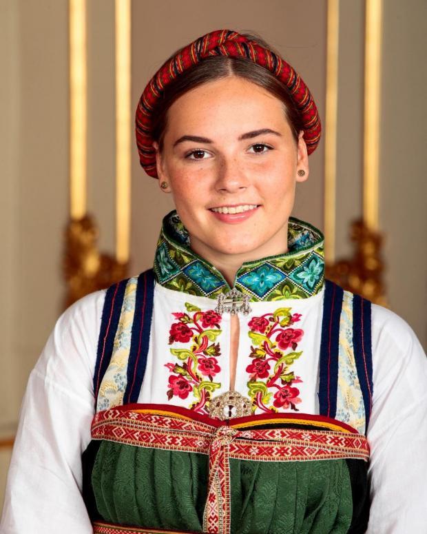 Норвежская принцесса Ингрид Александра