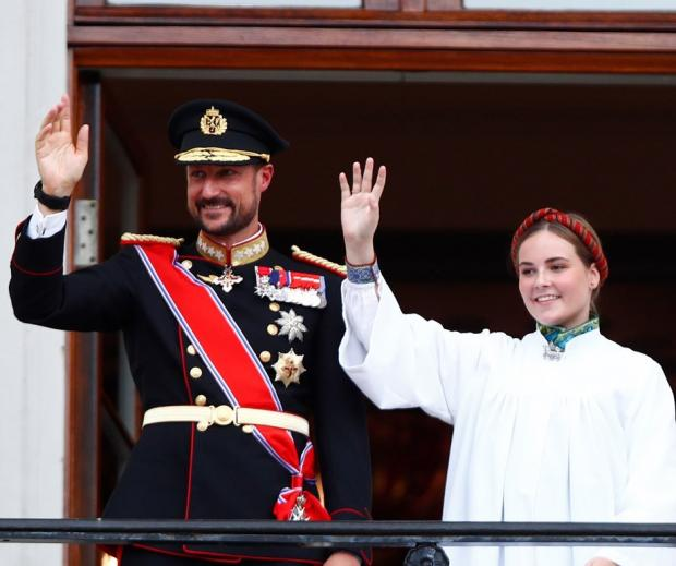 принц Хокон и принцесса Ингрид Александра