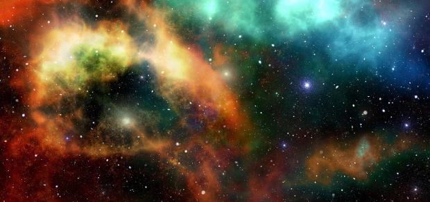 яркое изображение Вселенной