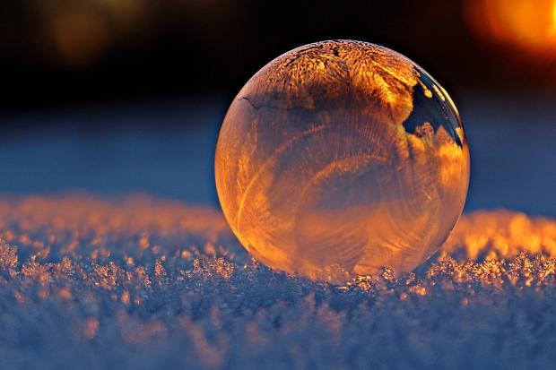 прозрачный шар