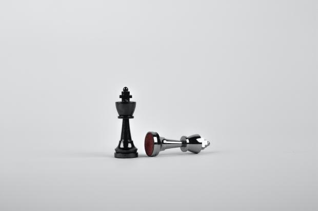 две шахматные фигуры