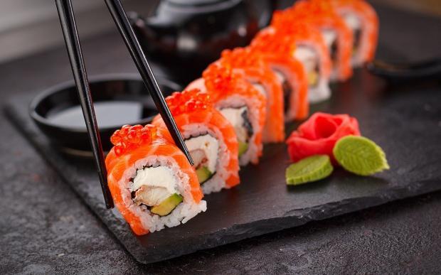 оригинальный рецепт японских суши