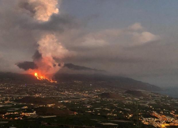 вулкан Cumbre Vieja
