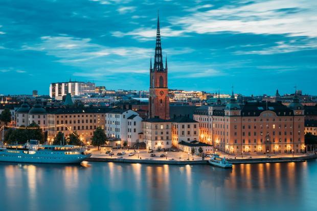 Живописный Стокгольм