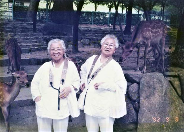 самые старые в мире сестры-близнецы