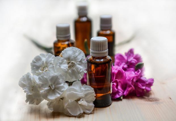 эфирные масла, цветки