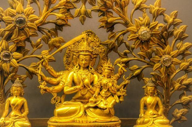 изображения тибетских богов