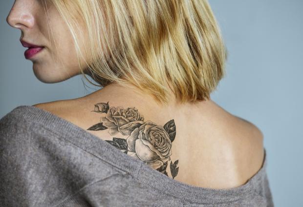 татуировка на спине
