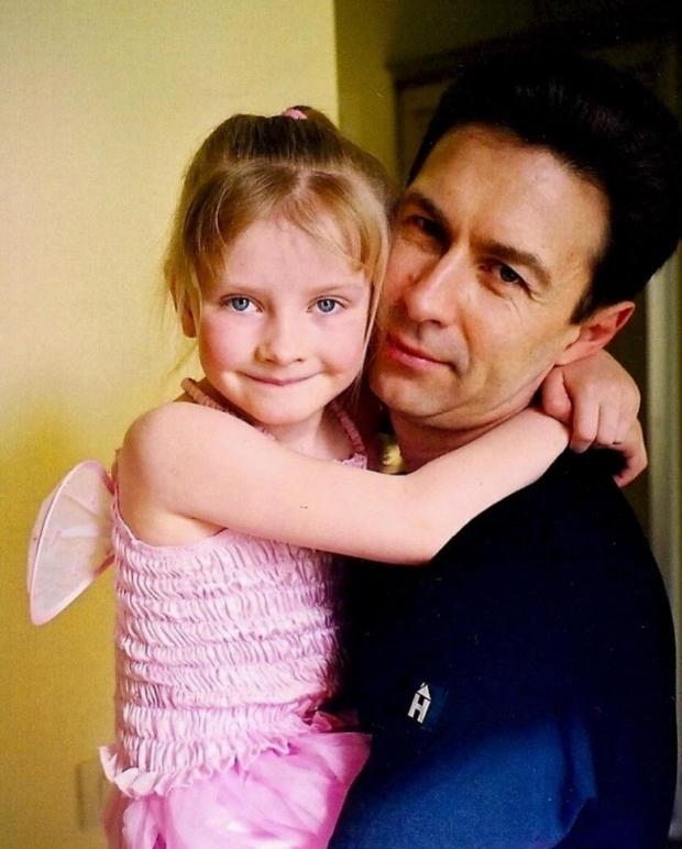 Валерия Сюткин с дочкой
