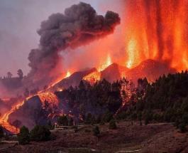 Ситуация на острове Ла Пальма ухудшается: извергающийся вулкан дал новую трещину
