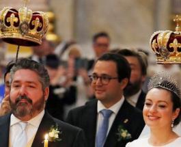 Первая королевская свадьба в России за 100 лет: женился потомок династии Романовых