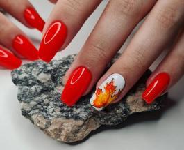 Модный осенний маникюр: 7 идей нейл-арта для украшения ногтей