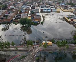 Наводнение в Китае: тысячи людей эвакуированы из провинции Шаньси
