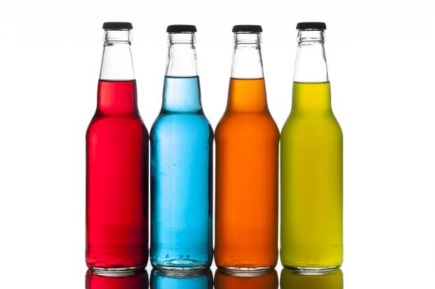 газировка в бутылках