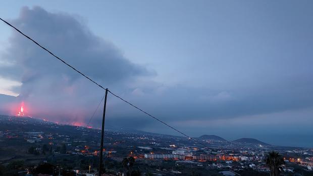извержение вулкана Cumbre Vieja