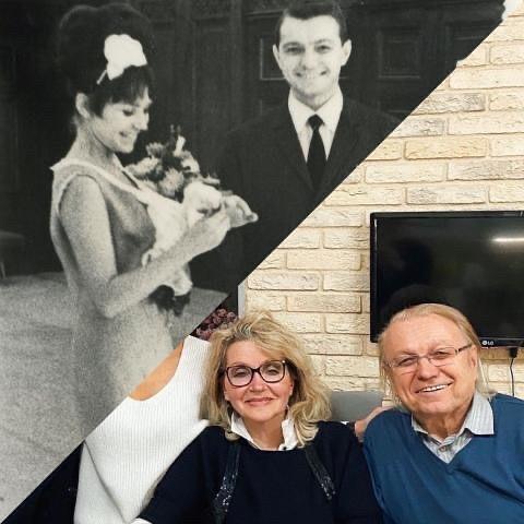 Юрий Маликов с женой