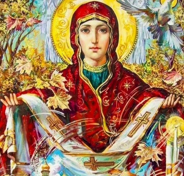 икона Покрова Пресвятой Богородицы