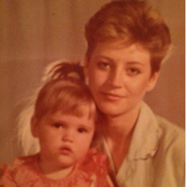 Анна Михайловская с мамой